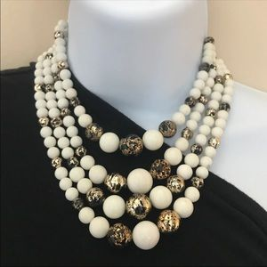 Vintage Multi Strand Necklace Japan